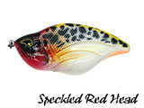 Rozemeijer Maori Jerkbait 12 cm. Speckled Red Head