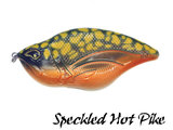 Rozemeijer Maori Jerkbait 12 cm. Speckled Hot Pike