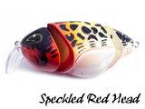 Loki Plug | Speckled Red Head