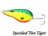 Rozemeijer Dr. Spoon Lepel 8 cm.   Speckled Fire Tiger