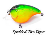 Fat Izy Plug Speckled Fire Tiger | Rozemeijer