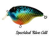 Fat Izy Plug Speckled Blue Gill | Rozemeijer