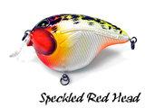 Fat Izy Plug Speckled Red Head | Rozemeijer