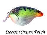 Fat Izy Plug Speckled Orange Perch | Rozemeijer