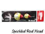 Dr. Blade Tandem Spinner 10 gr. Rozemeijer   Speckled Red Head