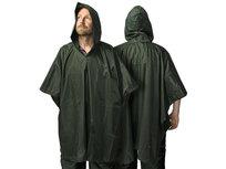 Regen Poncho Groen Deluxe