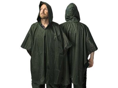 Poncho Deluxe Groen