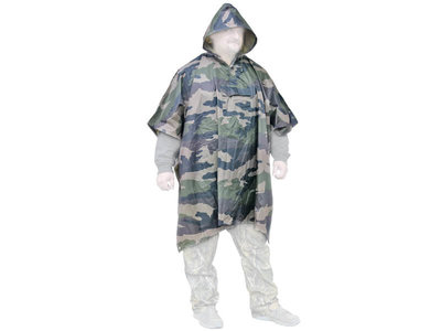 Camouflage Poncho Deluxe XL / XXL