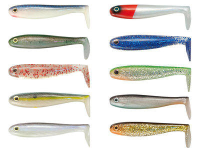 Hollow Shad 10 cm   Holle Shads 5 st.