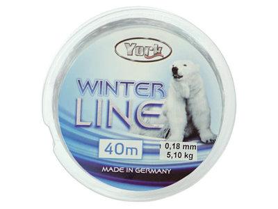 IJsvis Lijn   Winter Nylon Lijn 40 m.