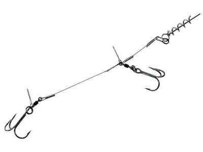 Shallow Screw Stinger 2 dreggen 18 cm - 2 st. (Rozemeijer)