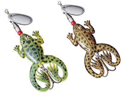 Rubber Kikker Spinner 12 cm. | Froggy Spin